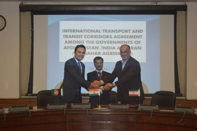 Image Chabahar Port Agreement Draft Signed