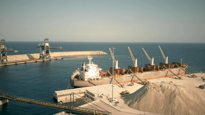 Iran Clinker Export Loading Port