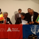 Shipping Container Agreement With Port of Antwerp, Belgium, Moves Iranian Companies Closer To European Market